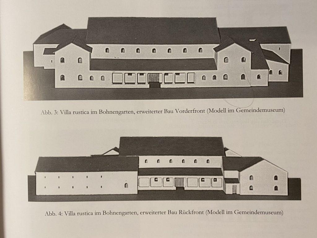 Erste bestätigte Siedlungsfunde – Römische Villen